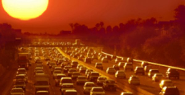 large-hot-summer-heat-cars-traffic-highway