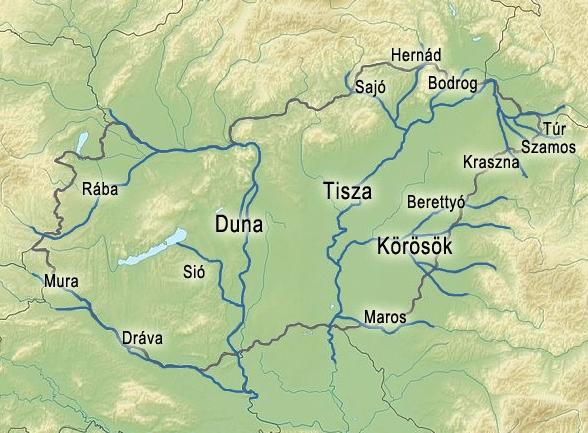 magyarország folyói térkép Vízállás jelentés és előrejelzés | Eumet.hu – Időjárás előrejelzés magyarország folyói térkép