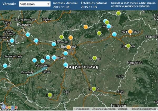 időjárás riasztási térkép szálló por | Eumet.hu – Időjárás előrejelzés időjárás riasztási térkép